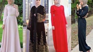 Hijab Dresses Jilbab & Abayas  by Leena Asad   2016 عبايات وفساتين وازياء أنيقة للمحجبات