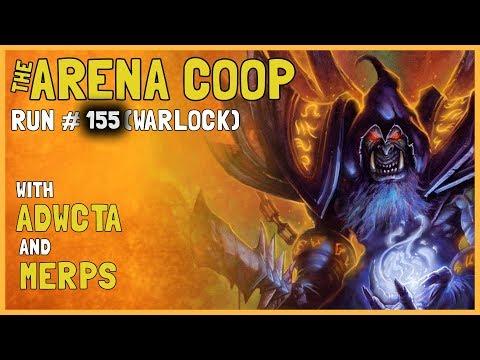 Hearthstone Arena Coop #155 (Warlock)