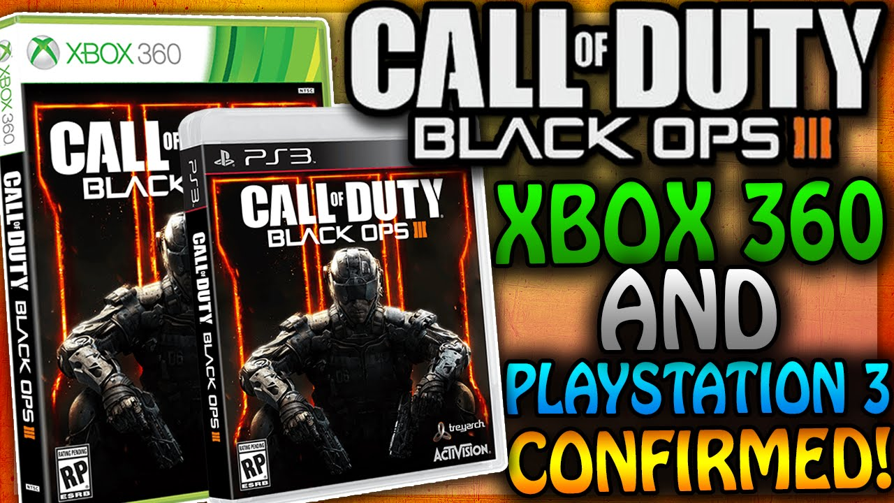 BLACK OPS 3 CONFIRMED ON XBOX 360 and PLAYSTATION 3! (COD ...Video Games Xbox 360 Bo3