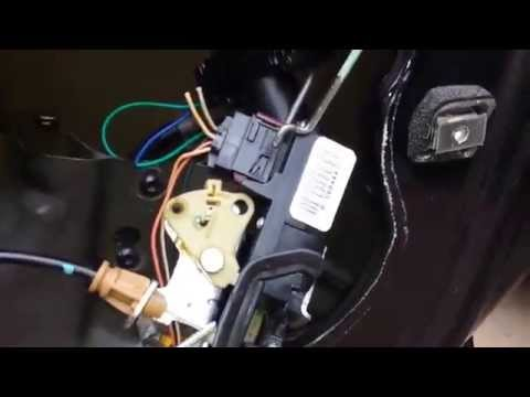 Impala Door Lock Solenoid Replacement Youtube