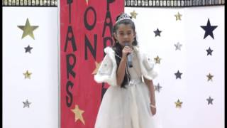 "Izabella Paniagua sings ""God I Need You Now"""