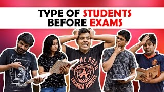 Types of Students Before Exam | The Half-Ticket...