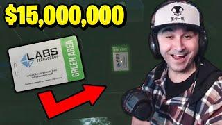 Summit1g finds RARE GRËEN KEYCARD worth 15 Million in Escape from Tarkov!