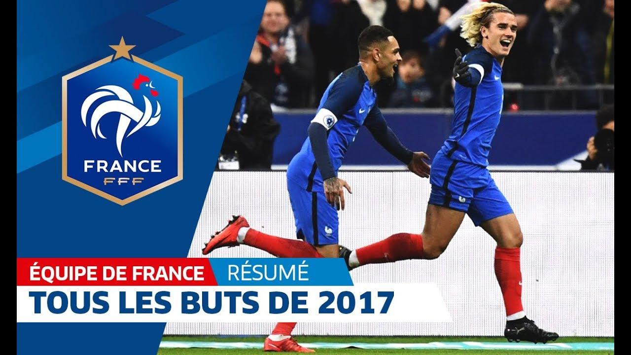 Equipe de france tous les buts de l 39 ann e 2017 i fff - Tous les buts coupe du monde 1998 ...