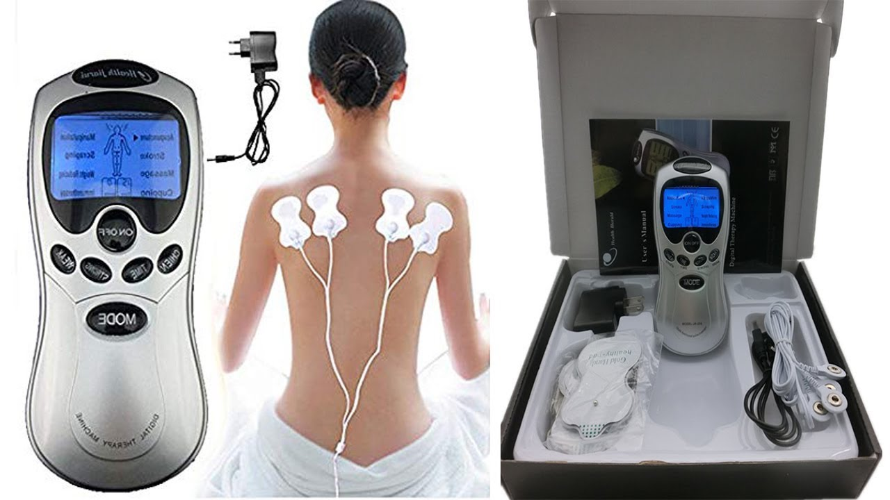 HEALTH DIGITAL THERAPY MACHINE FOR MASSAGE MUSCULAR RELAXATION AND CONTROL  BLOOD PRESSURE - YouTube