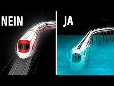 Dubais Unterwasserzug und 13 unwirkliche technische Wunderwerke
