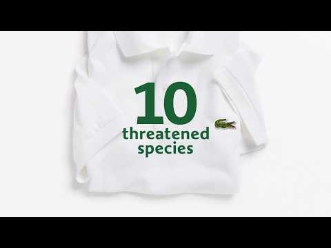 Lacoste swaps out iconic croc logo for endangered species