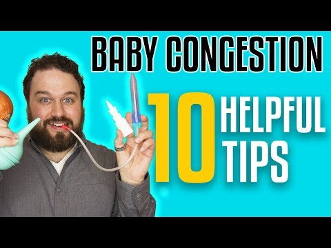 How To Help A Congested Baby Breathe