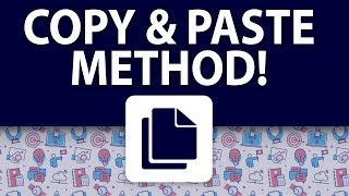 HOW TO COPY AND PASTE ADS TO MAKE MONEY ONLINE! (FULL IN DEPTH TRAINING)