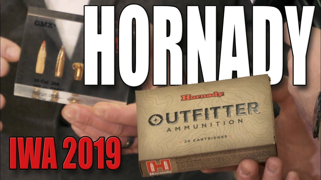 New Hornady ETX bullet and Outfitter ammunition for hunting (IWA 2019)