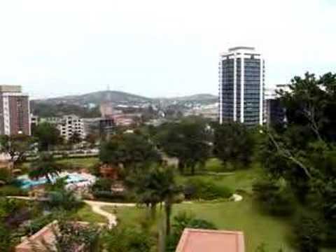 View from Kampala Serena Hotel