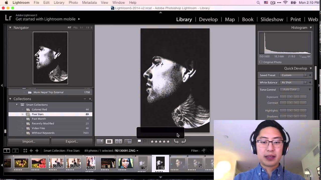 Introduction to Editing, Processing, and Workflow in Lightroom for Street Photography