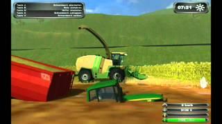 HD Farming Simulator 2011 MULTIPLAYER MUD SILAGE!
