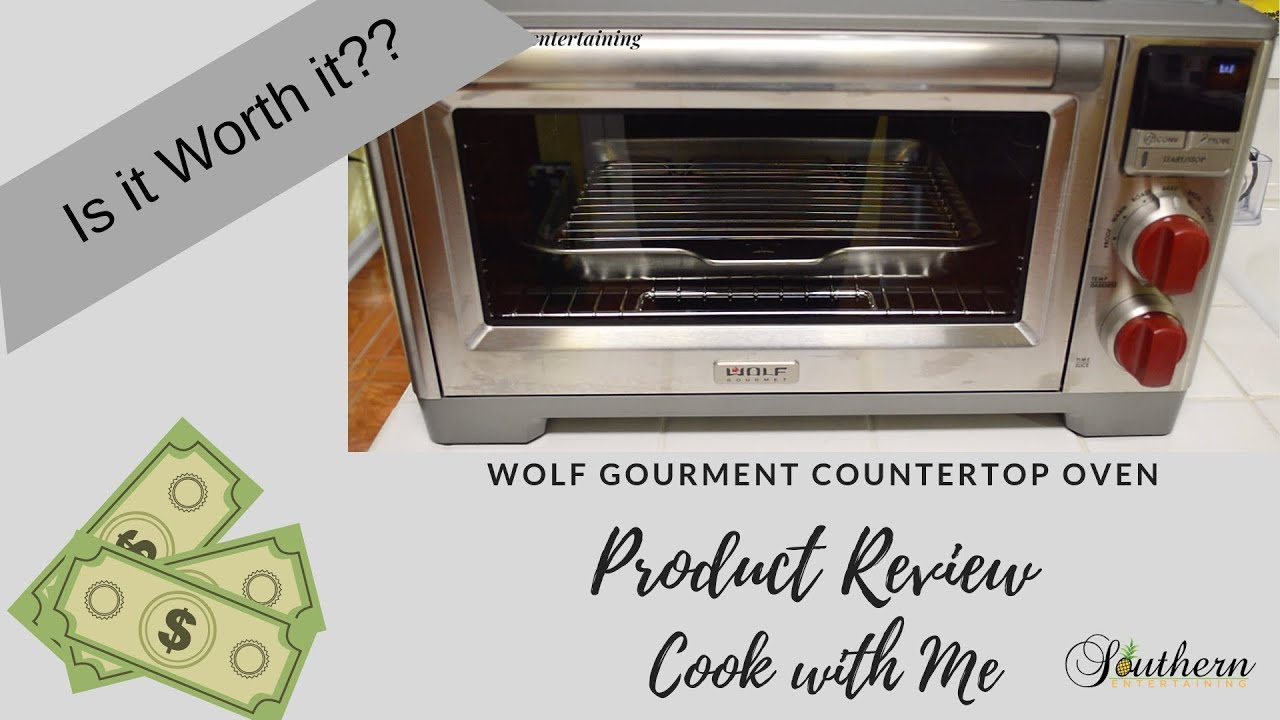 product review wolf gourmet countertop oven cook with me