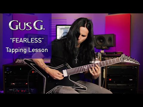 """Gus G. - """"Fearless"""" Tapping Lick Lesson"""