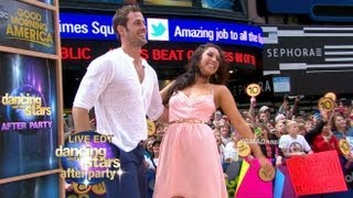 William Levy, Cheryl Burke Perform Cha-Cha Live on