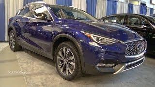 2018 Infiniti QX30 Premium AWD - Exterior And Interior Walkaround - Albany Auto Show 2017