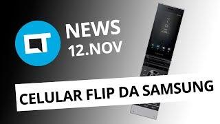 Novo celular de flip da Samsung; iCloud até 22% mais caro no Brasil e+ [CT News]
