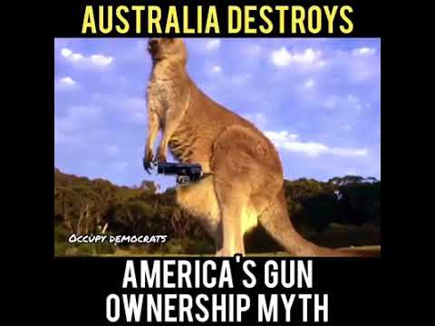 John Oliver Australia Destroys America's Gun Ownership Myth