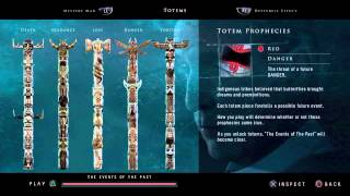 Until Dawn: All totem clips and history clip