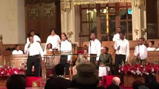 Silent Night - Historic Little Rock Baptist Church (Detroit) - Youth For Christ Singers