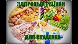 Здоровое питание для студента
