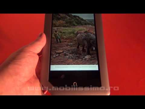 Barnes & Noble Nook tablet review Full HD in limba romana - Mobilissimo TV