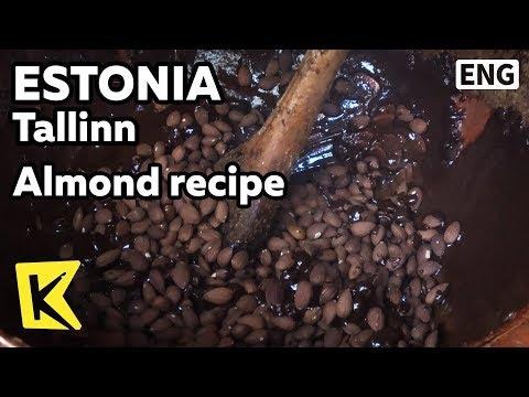 【K】Estonia Travel-Tallinn[에스토니아 여행-탈린]중세 시대 식 아몬드 조리법/Old Town/Almond/Middle Age/Recipe