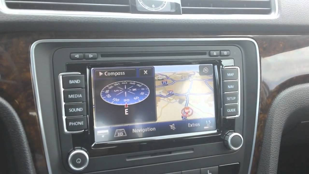 new volkswagen rns 510 navigation with voice commands. Black Bedroom Furniture Sets. Home Design Ideas
