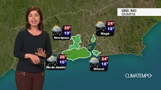 Previsão Grande Rio – Tempo instável