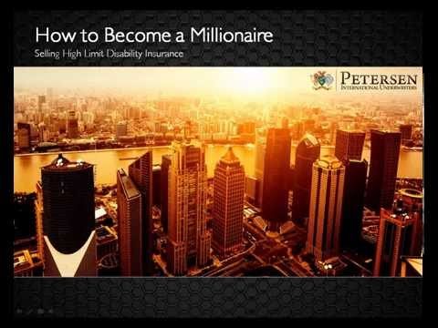 How to Become a Millionaire Selling Disability Insurance