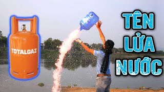 🔥TXT - CHƠI TÊN LỬA NƯỚC KHỔNG LỒ SỬ DỤNG KHÍ GAS | ROCKE WATER