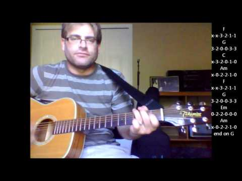 """How to play """"Everlasting Love"""" by Howard Jones on acoustic guitar"""