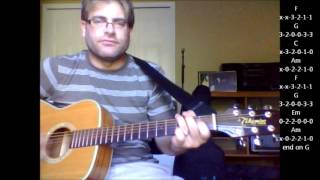 "How to play ""Everlasting Love"" by Howard Jones on acoustic guitar"