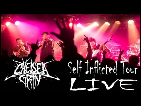 Chelsea Grin LIVE at Walter's Downtown Houston,TX (Vlog)   HeyItsAndy