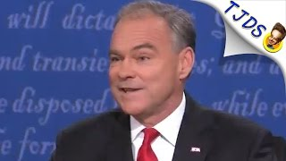 Tim Kaine's Lame Platitudes Are Exactly What Americans Are Sick Of