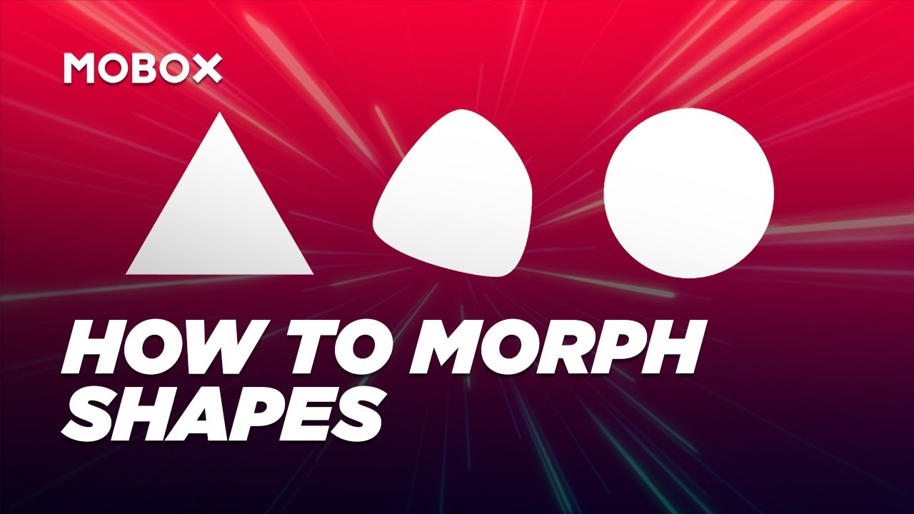 How To Morph Shapes After Effects Tutorial
