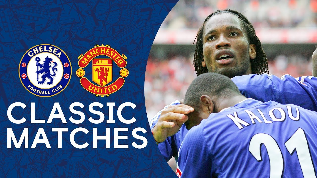 Download Chelsea 1-0 Man Utd   Superb Drogba Finish Ends United Hopes   FA Cup Final 2007