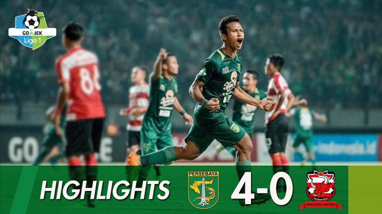 Highlights Persebaya Vs Madura United Liga 1 2018