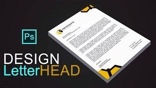 Letterhead | How to Design a Letterhead In adobe Photoshop Mp3