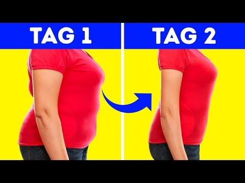 Reinigen Sie den Körper, um Gewicht zu verlieren