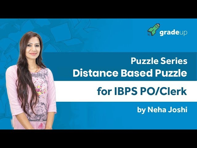 Puzzle Series for IBPS PO/Clerk | Direction Based Puzzle By Neha Mam - Class 9