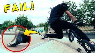 ERSTE VERLETZUNG! - BMX Vlog! - Fixx I Felix