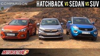 Best Car Under Rs 12 lakhs (SUV vs Sedan vs hatchback) MotorOctane