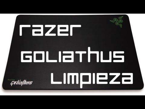 Como limpiar tu Razer Goliathus / How to clean ur razer Goliathus