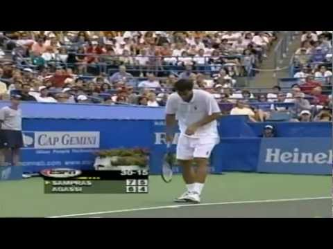 Sampras - Agassi - Cincinnati 1999 - Highlights