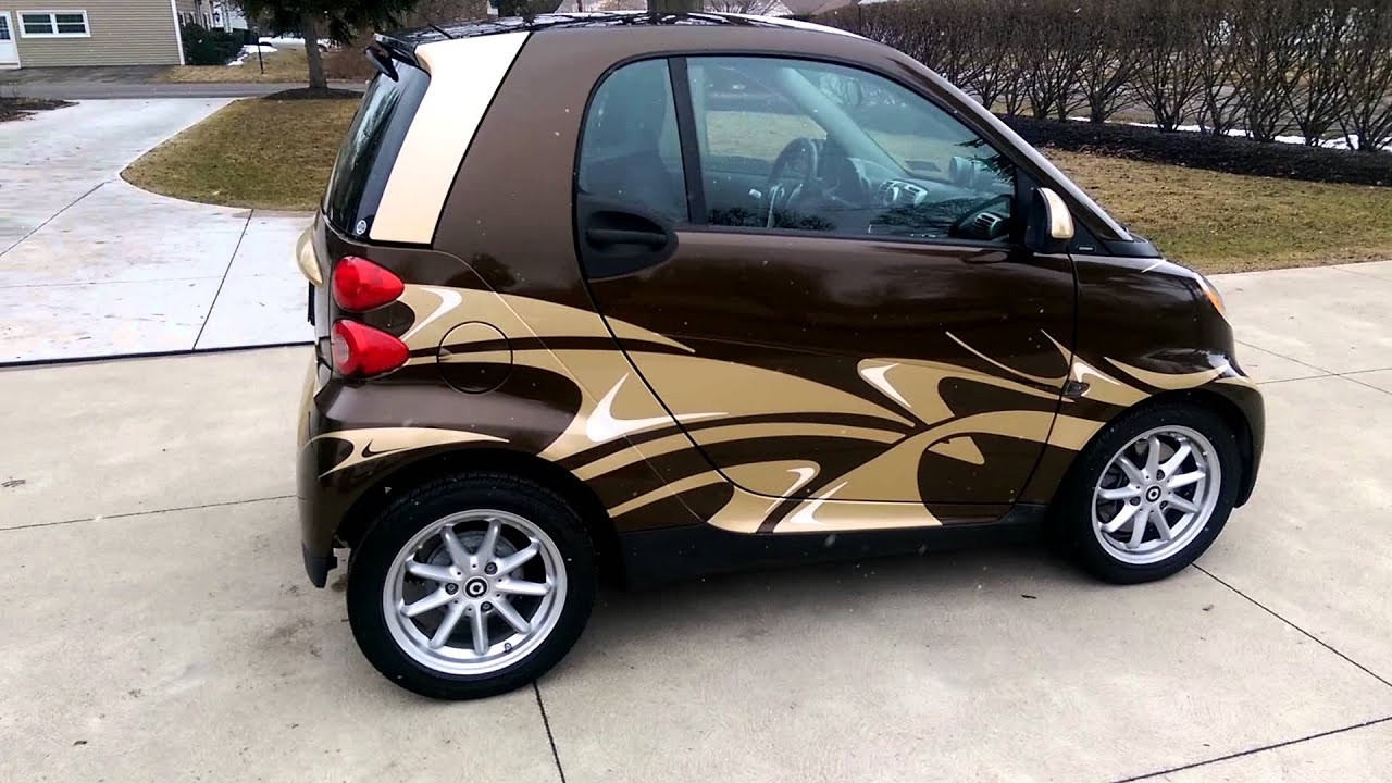 Smart car sticker designs - Smart Car Full Vinyl Wrap And Graphics By Sharper Images Tint And Wraps Erie Pa Youtube