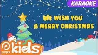Karaoke We Wish You A Merry Christmas | Nhạc Thiếu Nhi Cho Bé | Christmas Songs
