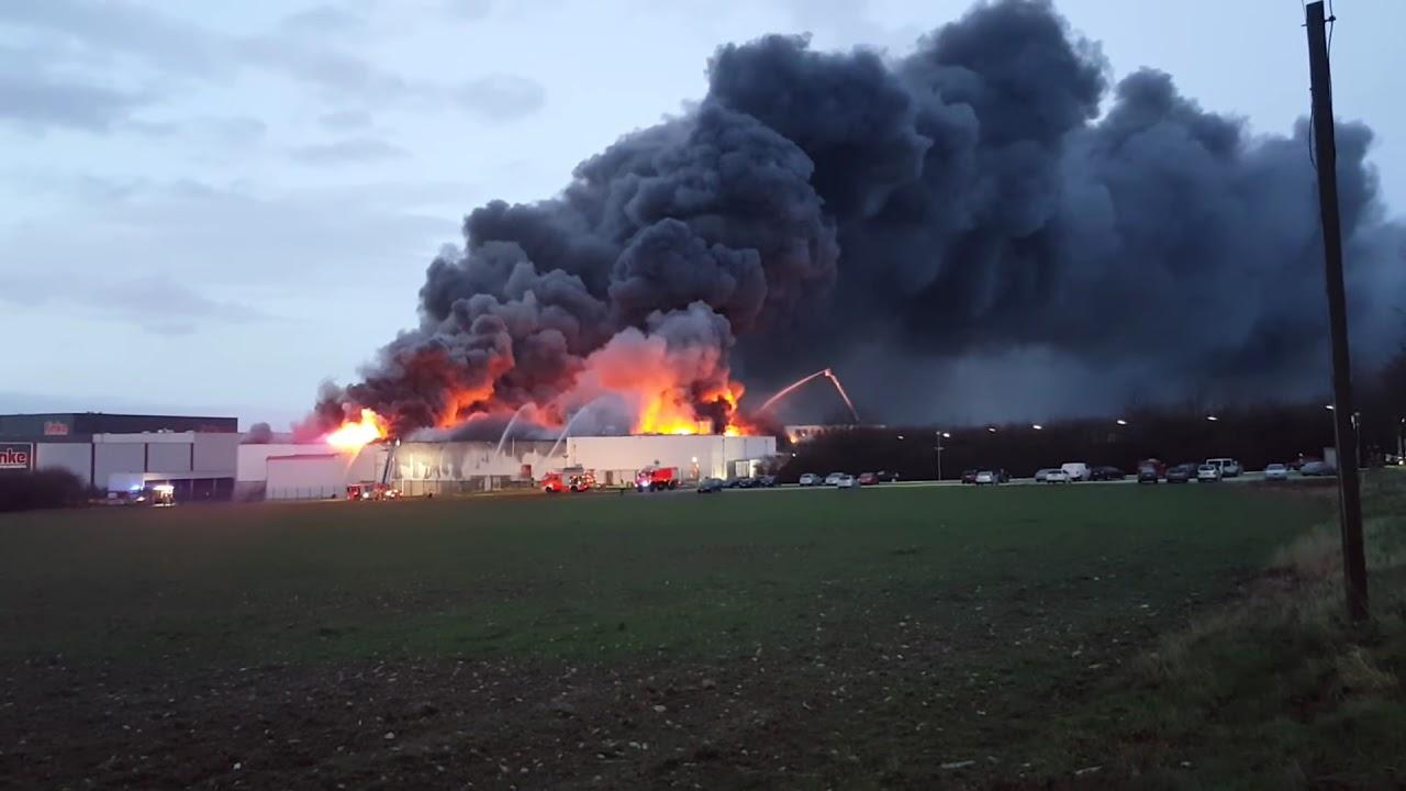 Feuer Westfleisch Paderborn