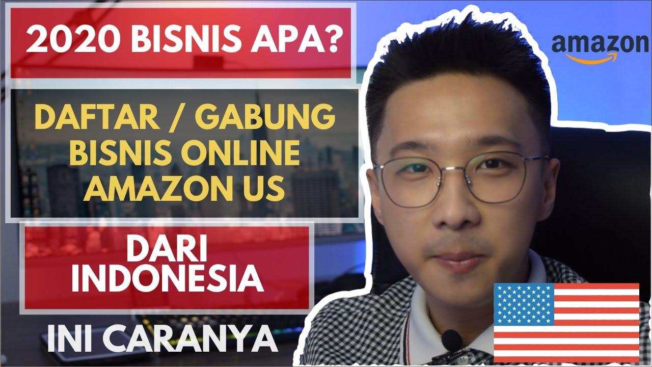 Ini Cara Daftar Bisnis Online Amazon Us Dari Indonesia Hyperwallet Youtube
